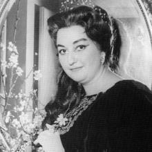 Montserrat Caballé, en 1962