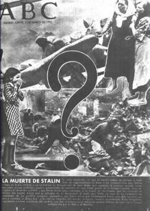 Portada de ABC anunciando la muerte de Stalin