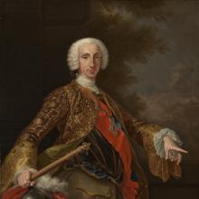 Retrato de Carlos como Rey de Nápoles y Sicilia