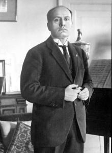 Mussolini, en la época del atentado