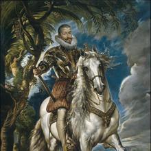 Retrato ecuestre del duque de Lerma, por Rubens