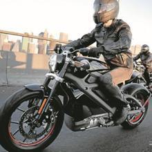 Prototipo eléctrico de Harley-Davidson