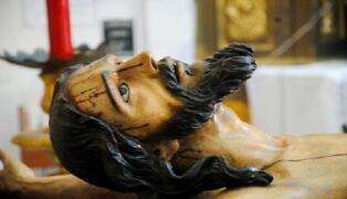 Santa Cruz: Veneración al Cristo de las Misericordias