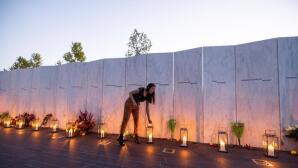 Así fue la vigilia en Pensilvania por el aniversario del 11-S, en imágenes