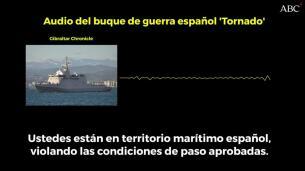 Buque español a barcos gibraltareños  «Les sugerimos abandonar territorio  marítimo español» 2318374c8c1